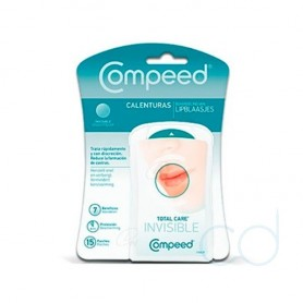 COMPEED CALENTURAS - TOTAL CARE PARCHE HIDROCOLOIDE (15 PARCHES)