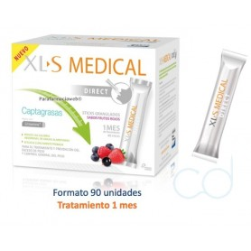 XLS MEDICAL DIRECT STICKS CAPTAGRASAS - (90 STICKS)