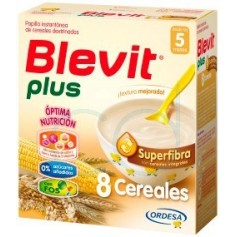 BLEVIT PLUS SUPERFIBRA 8 CEREALES - (600 G)