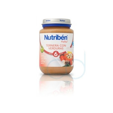 NUTRIBEN TERNERA CON VERDURA - (POTITO JUNIOR 200 G)
