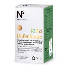NS DEFENBIOTIC KIDS COMP MASTICABLES - (60 COMPRIMIDOS)