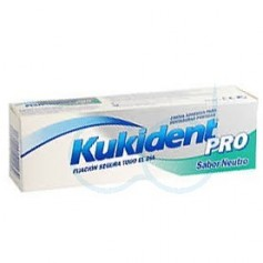 KUKIDENT PRO DOBLE ACCION - CREMA ADH PROTESIS DENTAL (NEUTRO 60 G)