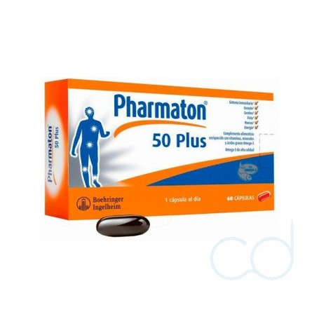 PHARMATON 50 PLUS - (30 CAPS)