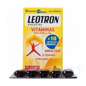 LEOTRON VITAMINAS ANGELINI - (30 CAPS)