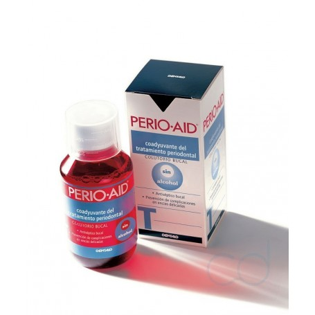 PERIO AID TRATAMIENTO COLUTORIO SIN ALCOHOL - (150 ML)