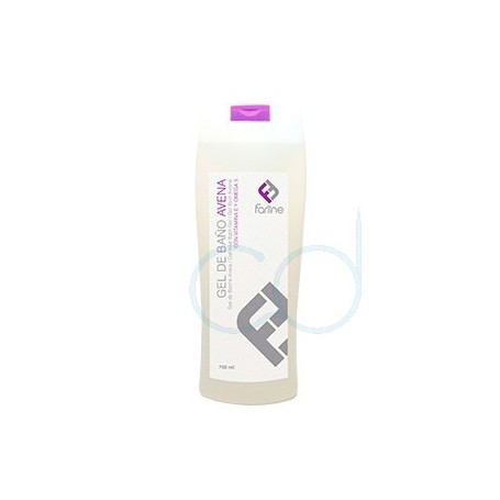 FARLINE GEL DE BAÑO DE AVENA - (750 ML)