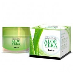 FARLINE CREMA FACIAL ALOE VERA - (50 ML)
