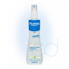 MUSTELA BEBE AGUA DE COLONIA SIN ALCOHOL - (200 ML)