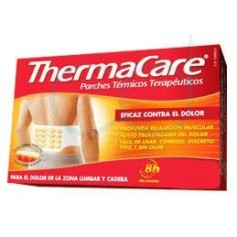 THERMACARE ZONA LUMBAR Y CADERA - PARCHES TERMICOS (4 PARCHES)