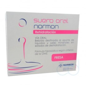SUERO ORAL NORMON PACK FRESA 250 ML 2 U