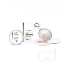 Be+ Skin Protect Maquillaje Compacto Spf50+ Piel Oscura